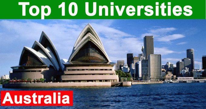 Top 10 Australian Universities