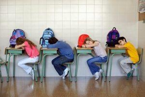 Sleep Time on Students' Behavior